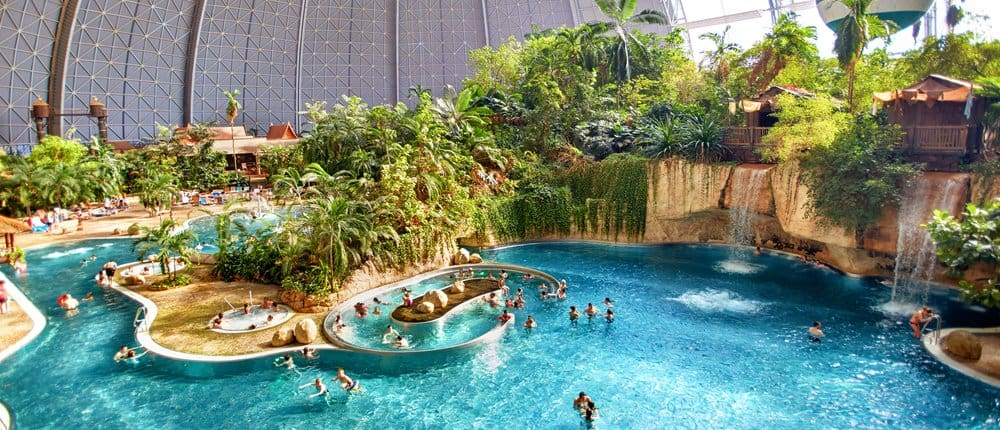 Brandenburgia Tropical Islands z gory